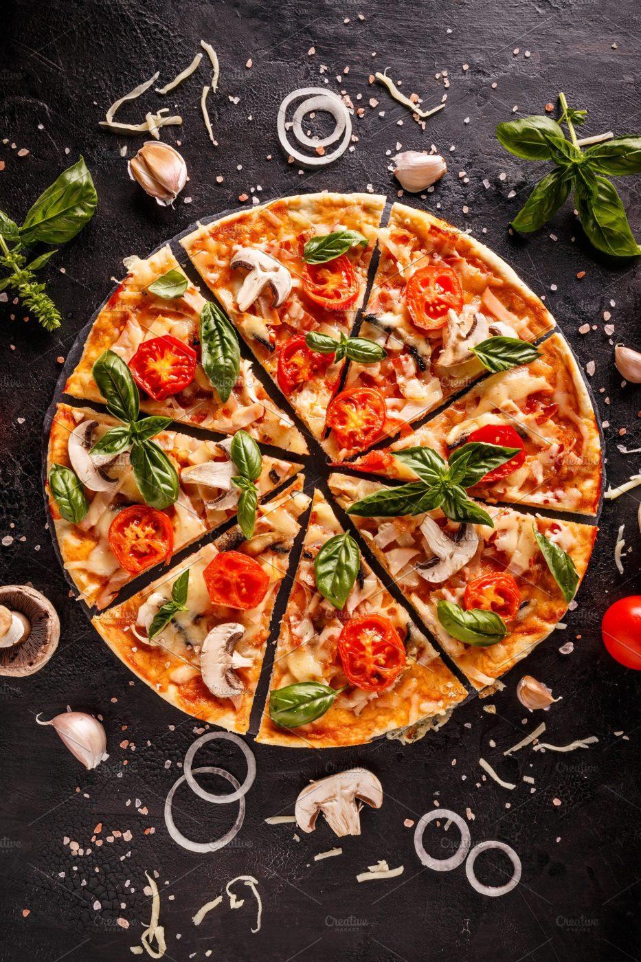 пицца в рок-н-ролл